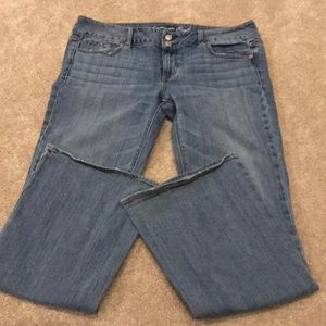 American eagle artist jeans size 14